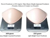 Poorti Light weight silicone prosthesis for breast cancer survivors