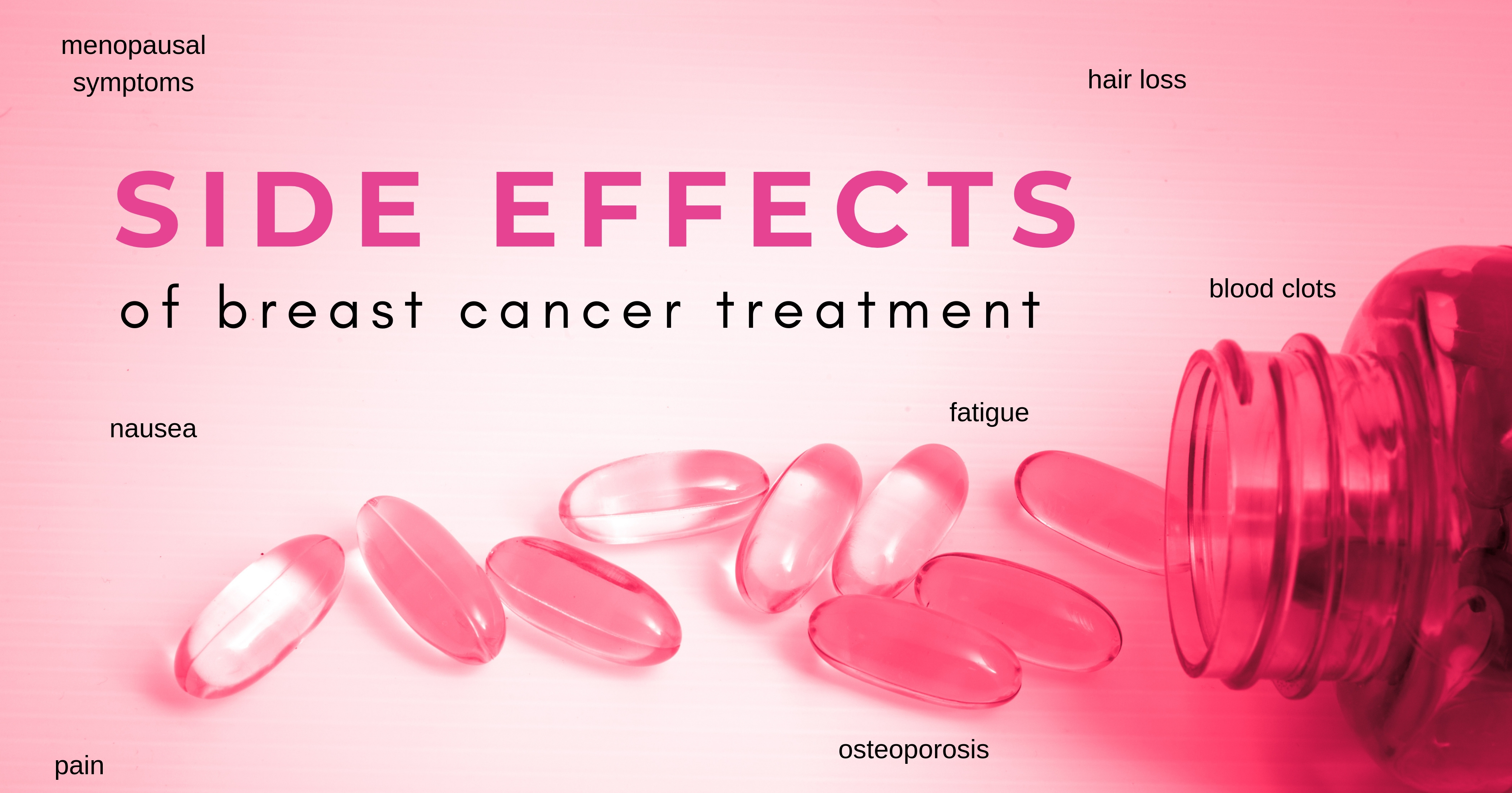 Side effects of breast cancer treatment