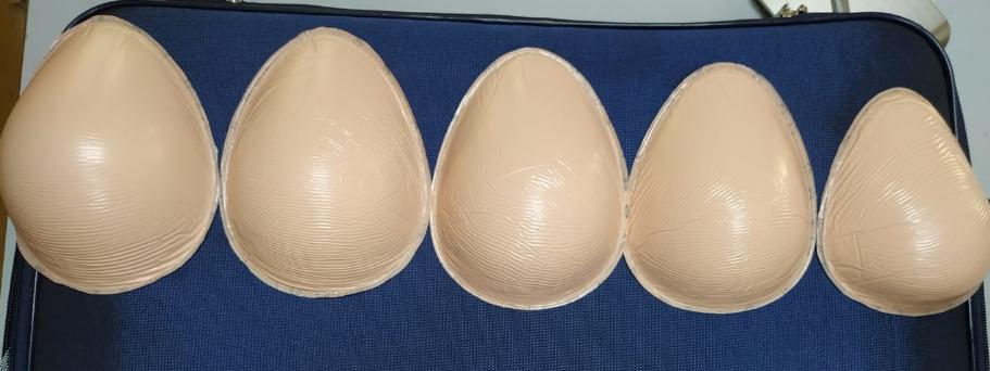 Poorti breast prosthesis for post mastectomy rehabilitation